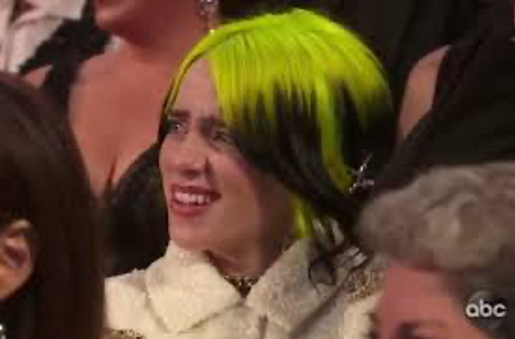 Image result for billie eilish oscars